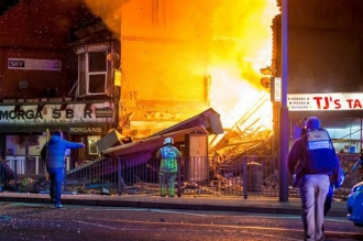 Explozie în Leicester: Cel puţin şase persoane au fost rănite. Mai multe clădiri au fost distruse sau avariate
