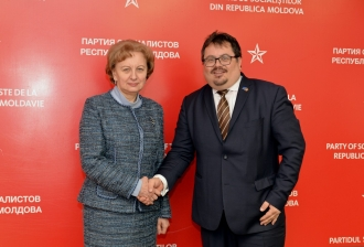 Zinaida Greceanîi s-a întâlnit cu Peter Michalko