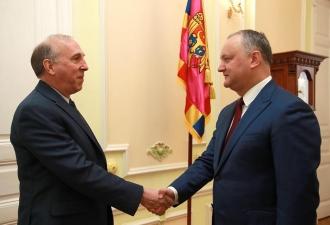 Vizita șefului statului în SUA, preconizată pentru începutul luni iulie, subiect de discuție dintre Igor Dodon și James Petitte