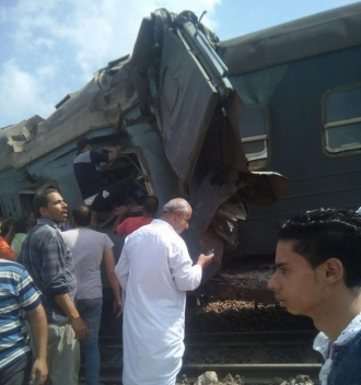 Cel puţin zece persoane au murit în urma unui accident feroviar produs în Egipt