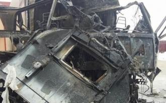Doi moldoveni, răniți grav într-un incendiu urmat de explozie într-o parcare din Vrancea