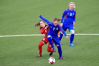 Naționala feminină a învins Lituania într-un meci amical