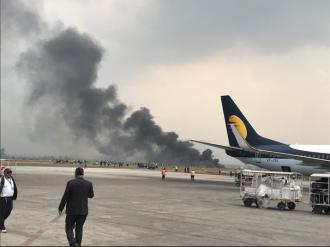 Un avion de pasageri s-a prăbuşit în apropierea aeroportului din Kathmandu: 71 de persoane se aflau la bord