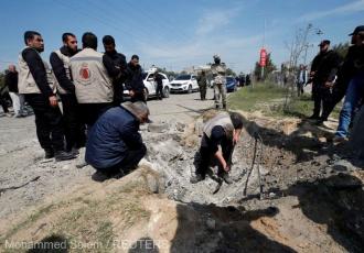 Fâşia Gaza: Explozie la trecerea coloanei premierului palestinian, şapte persoane rănite