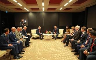 Președintele țării a avut o întrevedere cu președintele Republicii Albania