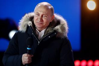 Vladimir Putin, reales președinte al Rusiei cu peste 75 la sută din voturi
