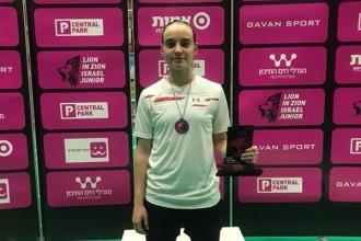 Vlada Gînga a cucerit două medalii la turneul din Israel