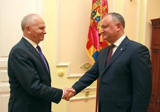 Dodon: Moldova este și va rămîne un partener de încredere al Rusiei în toate domeniile de colaborare