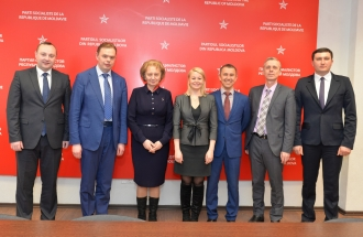 Zinaida Greceanîi s-a întîlnit cu delegația regiunii Nijnii Novgorod