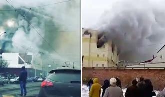 INCENDIU într-un mall din Rusia: Bilanţul a ajuns la 53 de morţi şi zeci de răniţi