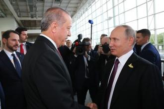 Recep Tayyip Erdogan şi Vladimir Putin au discutat despre situaţia conflictului din Siria
