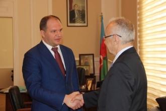 Ion Ceban s-a întâlnit cu primarul orașului Baku