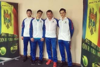Naționala Davis Cup a plecat în Muntenegru
