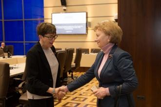 Zinaida Greceanîi s-a întîlnit cu delegația Adunării Parlamentare a Consiliului Europei