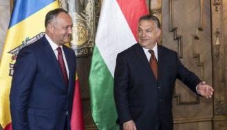 Victor Orban, felictat de Igor Dodon, cu ocazia victoriei la alegerile parlamentare din Ungaria