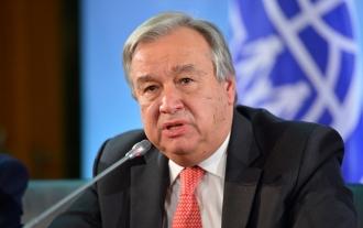 Secretarul general al ONU face un apel pentru Siria la membrii permanenţi ai Consiliului de Securitate