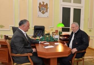 Șeful statului se va întîlni cu conducătorii diasporei moldovenești din toate regiunile Federației Ruse