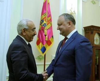 Igor Dodon va efectua o vizită oficială în Qatar