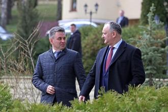 Igor Dodon planifică o întrevedere cu liderul de la Tiraspol