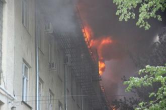 Detalii în cazul celor două incendii puternice din capitală