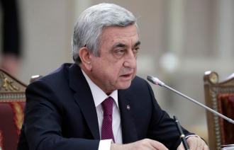 Serzh Sargsyan a anunţat că va demisiona din funcţia de premier al Armeniei
