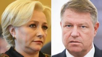 Preşedintele Klaus Iohannis i-a cerut public DEMISIA premierului Dăncilă