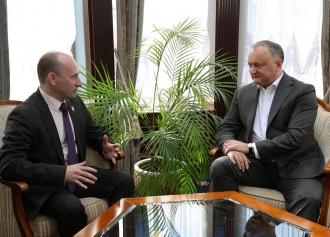 Igor Dodon: Voi face tot posibilul pentru a evita implicarea Moldovei şi a poporului nostru în confruntări geopolitice