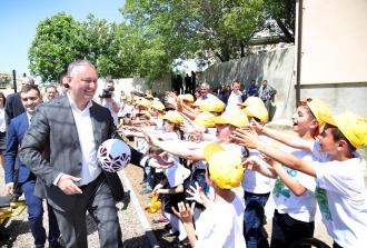 Două complexuri sportive, construite la inițiativa lui Igor Dodon, au fost inaugurate în Găgăuzia