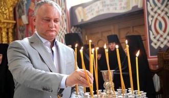 Susținerea lăcașurilor sfinte și religiei creștin-ortodoxe, o prioritate pentru șeful statului