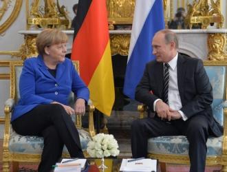 Angela Merkel şi Vladimir Putin se vor întâlni la Soci, în 18 mai