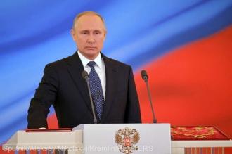 Vladimir Putin a depus jurământul pentru un nou mandat de preşedinte