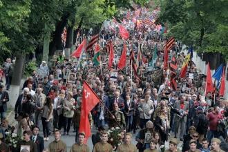 Marșul Victoriei, la Chișinău