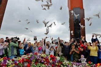 Greceanîi la Marșul de 9 mai: Este o victorie, care trebuie să ne învețe să învingem întotdeauna (VIDEO)