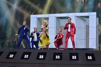 """Formația """"DoReDos"""" a trecut în finala Eurovision"""