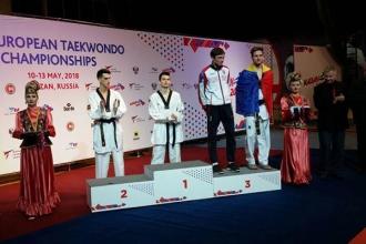 Stepan Dimitrov a cucerit bronzul la Europenele de taekwondo