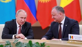 Igor Dodon se va întîlni cu Vladimir Putin, la Soci, pe 14 mai