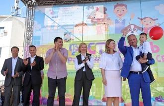 Președintele RM, prezent la Festivalul Familiei din Comrat