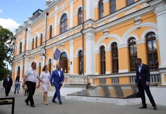Igor Dodon, în vizită la complexul istorico-cultural din Hîncești – Conacul lui Manuc Bey