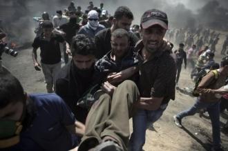 Ciocniri violente în Fâşia Gaza. Peste 50 de palestinieni au fost uciși