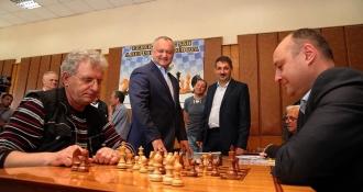 Igor Dodon a prezidat Adunarea Generală a Federației de Șah din Moldova