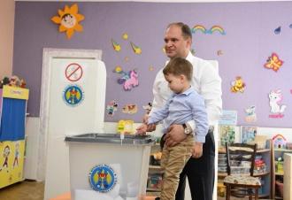 Ion Ceban: Am votat pentru un oraș mai amenajat și frumos pentru oamenii de toate vârstele (VIDEO)