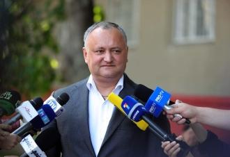 Igor Dodon: Îndemn cetățenii să voteze candidați reali, nu falși (VIDEO)