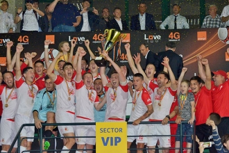 Milsami a câștigat Cupa Moldovei la fotbal