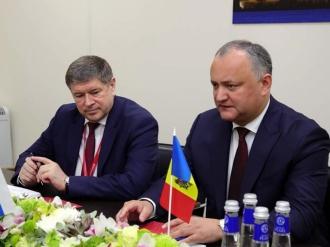 Igor Dodon a avut o întrevedere cu guvernatorul regiunii Kursk