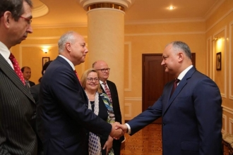Oficiali de rang înalt din Austria, la discuții cu Președintele Igor Dodon