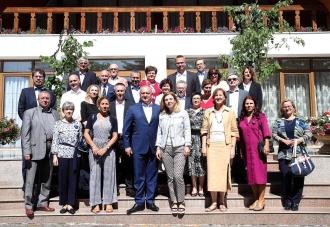 Întrevedere informală dintre Igor Dodon și ambasadorii țărilor UE