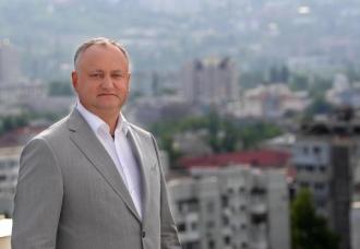 Igor Dodon îndeamnă chișinăuienii să aleagă un primar profesionist