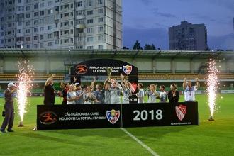 Agarista a câștigat Cupa Moldovei la fotbal feminin