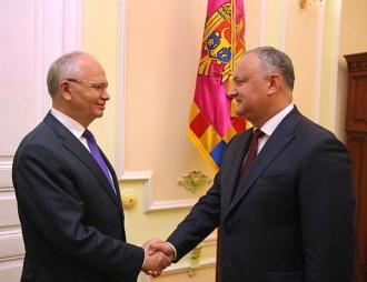 Igor Dodon: Relațiile dintre Moldova și Rusia se dezvoltă continuu, în pofida acțiunilor neprietenoase ale Guvernului de la Chișinău