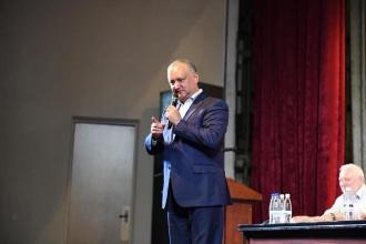 Dodon: PSRM are perspective foarte bune pentru alegerile parlamentare din toamnă